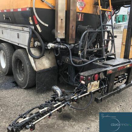 Nettoyage de machinerie lourde (après)
