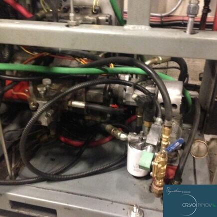 Nettoyage d'unité hydraulique (après)