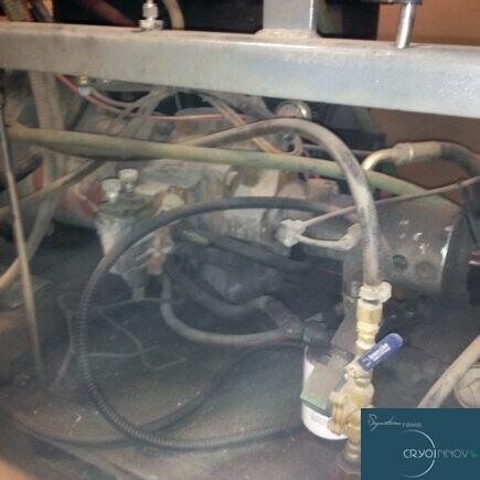 Nettoyage d'unité hydraulique (avant)