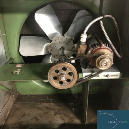Nettoyage de ventilation d'usine (après)